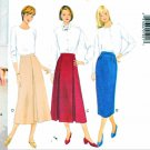 Butterick Sewing Pattern 4100 Misses Size 14-18 Easy Classics Bias Straight Pleated Skirts