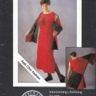 Rag Merchant Sewing Pattern Daydreamer Duo Misses Sizes 6-24/26 Sleeveless A-line Dress Shawl