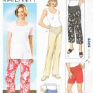 Kwik Sew Sewing Pattern 3324 Maternity Misses Size 6-22 Easy Pants Shorts Jeans Panel