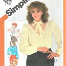Simplicity Sewing Pattern 5303 Misses Sizes 12 Button Front Blouse Sleeve Options