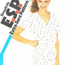 Simplicity Sewing Pattern 5969 Misses Size 12-16 Knit Short Sleeve Romper Jumpsuit