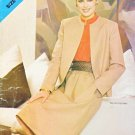 Butterick Sewing Pattern 5075 Misses Size 8-12 Long Sleeve Jacket Skirt Suit