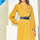 Butterick Sewing Pattern 5115 Misses Size 8-16 Pullover Long Sleeve Loose-Fitting Dress