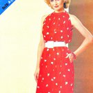 Butterick Sewing Pattern 5143 Misses Size 8-16 Halter Neck Sleeveless Sundress Dress