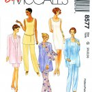 McCalls Sewing Pattern 8577 Misses Size 20-24 Easy Wardrobe Dress Tunic Pants Jacket