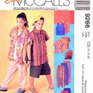McCall's Sewing Pattern 9266 Boys Girls Size 12-16 Easy Wardrobe Knit Tank Top Pants Shorts Shirt