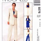 McCall's Sewing Pattern 9276 Misses Sizes 14-18 Non-Stop Wardrobe jacket Top Pants Skirt