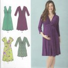 Simplicity Sewing Pattern 1360 Maternity Misses Size 16-24 Pullover Dress Mini-Dress Sleeve Options