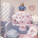 McCall's Creates Sew Free Pattern 14311 Easy Model Home Decorating 11 1/2 Fashion Doll Barbie