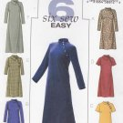Butterick Sewing Pattern 4342 Misses Size 8-14 Easy A-Line Long Short Cheongsam Style Dress