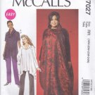 McCall's Sewing Pattern 7027 Women's Plus Sizes 18W-24W Easy Pullover Jumper Tunic Pants