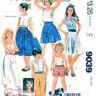 McCall's Sewing Pattern 9039 Girls Sizes 12-14 Easy Brooke Skirts Pants Shorts