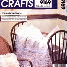McCall's Sewing Pattern 9169 739 Baby's Room Candlewicking Trapunto Quilt Pillow Wall-Hanging