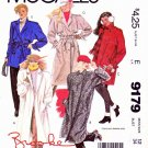 McCall's Sewing Pattern 9179 Misses Sizes 12 Brooke Lined Trench Coat Jackets Length Options