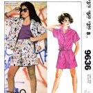McCall's Sewing Pattern 9636 Girls Size 12-14 Easy The Gap Button Front Shirts Shorts