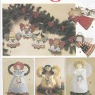 Simplicity Sewing Pattern 7549 Crafts Angel Tree Topper Standing Decorations Ornaments