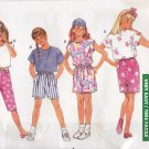 Butterick Sewing Pattern 6365 Girls Size 7-10 Easy 1 Yard Wardrobe Shorts Skirt Cropped Pants Tops