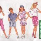 Butterick Sewing Pattern 6365 Girls Size 7-10 Easy 1 Yard Wardrobe Shorts Skirt Cropped Pants Tops