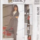 McCalls Sewing Pattern 2879 M2879 Misses Size 8-22 Easy Knit Wardrobe Cardigan Top Pant Skirt
