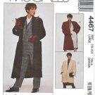 McCalls Sewing Pattern 4467 Misses Size 18-20 Easy Women's Day Lined Coat Three Lengths