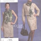 Vogue Sewing Pattern 1127 Misses Size 6-12 Badgley Mischka Jacket Skirt Blouse Suit