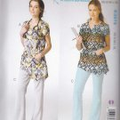 Kwik Sew Sewing Pattern 3979 Misses Sizes XS-XL (approx 6-22) Scrub Uniform Tops Pants