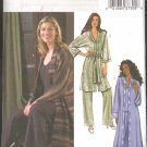 Butterick Sewing Pattern 4034 Misses Size 6-8-10 Easy Long Short Duster Belt Top Shell Pants