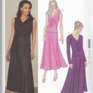 Kwik Sew Sewing Pattern 3450 Misses Sizes XS-XL (approx 6-22) Knit Tops Flared Skirt