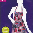 Simplicity Sewing Pattern A1971 Misses Size 10-24 Easy Reversible Full Butcher's Apron
