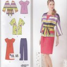 Simplicity Sewing Pattern 1620 Womans Plus Size 20W-28W Wardrobe Dress Top Pants Jacket