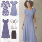 Simplicity Sewing Pattern 2249 Womans Plus Size 20W-28W Dress Top Skirt Sleeve Options