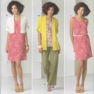 Simplicity Sewing Pattern 2262 Misses Sizes 14-26 Easy Dress Tunic Pants Knit Cardigan