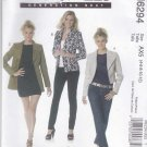 McCall's Sewing Pattern 6294 Misses Sizes 4-12 Palmer/Pletsch Lined Jacket Length Options.
