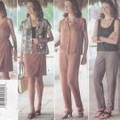 Butterick Sewing Pattern 5050 Misses Size 6-10 Easy Wardrobe Shirt Tank Top Skirt Pants
