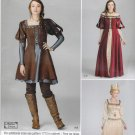 Simplicity Sewing Pattern C1773 1773 Misses Sizes 6-14 Renaissance Style Dress Costume