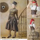 Simplicity Sewing Pattern C1558 1558 Misses Sizes 14-22 Steampunk Style Dress Costume