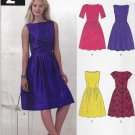 New Look Sewing Pattern A6223 6223 Misses Size 8-18 Dresses Sleeve Bodice Options