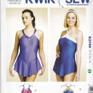 Kwik Sew Sewing Pattern 3769 Misses Sizes XS-XL (approx 6-22) Leotard Attached Skirts Costumes