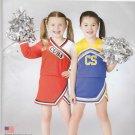 Simplicity Sewing Pattern S0707 0707 Girls Sizes 2-12 Easy Cheerleader Top Skirt Panties Costume