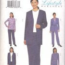 Butterick Sewing Pattern 3347 Misses Size 20-24 Easy Wardrobe Jacket Skirt Top Pants Belt