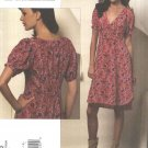 Vogue Sewing Pattern 1152 Misses Size 8-14 Rebecca Taylor Short Sleeved Dress
