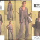 Vogue Sewing Pattern 1055 Misses Size 14-22 ADRI Wardrobe Jacket Top Shell Skirt Pants