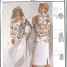 Burda Sewing Pattern 8331 Misses Size 8-20 Easy Pants Skirt Hooded Jacket Belt
