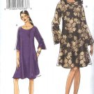 Vogue Sewing Pattern 8508 Misses Sizes 8-10-12-14 Easy Loose Fitting Pullover Knit Dress