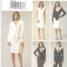 Vogue Sewing Pattern 8739 Misses Size 6-12 Wardrobe Jacket Dress Skirt Pants