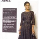 Vogue Sewing Pattern 8943 Misses Size 8-16 Claire Shaeffer Couture Dress Slip Full Skirt