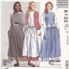 McCall's Sewing Pattern 6135 Misses Size 14-18 Jumper Blouse Petticoat Appliques