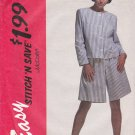 McCall's Sewing Pattern 6362 Misses Size 14-18 Easy Unlined Front Button Jacket Split-Skirt
