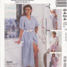 McCall's Sewing Pattern 6424 Misses Size 10-14 Easy Sew News Wardobe Shirt Top Skirt Pants Shorts