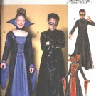 Butterick Sewing Pattern 4314 Boys Girls Size 12-14-16 Easy  Costumes Neo Matrix Female Gown Dress